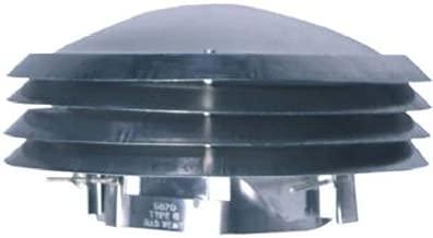 LESLIE-LOCKE 5070 Aluminium Versa Cap Adjustable Throat Range 4-7/8