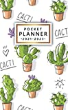 2021-2023 Pocket Planner: Motivational Three Year Monthly Schedule Agenda with Vision...