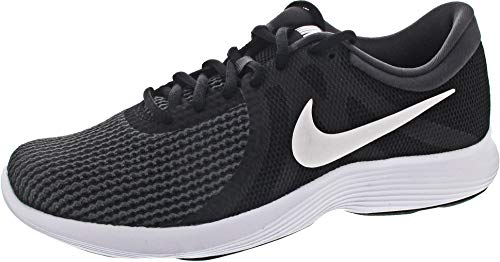 Nike Revolution 4 EU, Zapatillas de Running para Hombre, Negro (Black/White-Anthracite 001), 43 EU