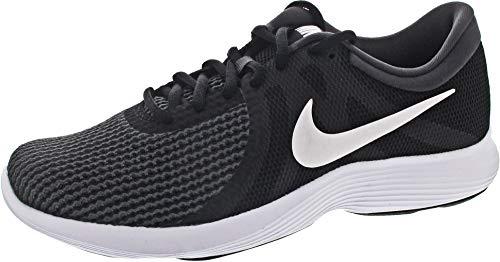 Nike REVOLUTION 4 EU, Scarpe da corsa, Uomo, Nero (Black / White / Anthracite 001), 42.5 EU