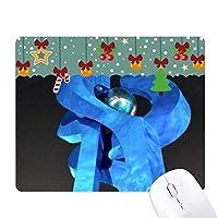 ブルーランドマーク ゲーム用スライドゴムのマウスパッドクリスマス