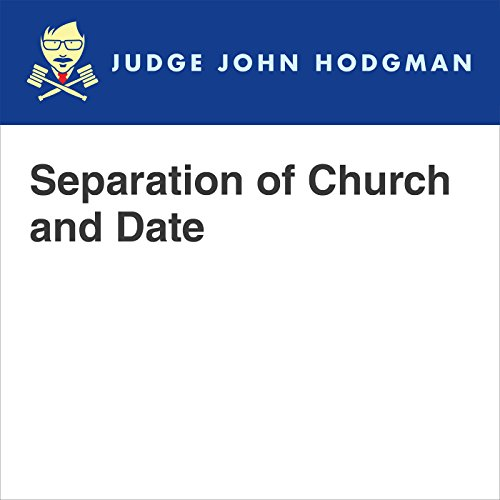 Separation of Church and Date audiobook cover art