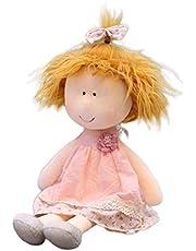 Stecto 35cm Little Eye Rag Doll, Schattig Zacht Warm Hart Meisje Rag Doll, Meisjes Slapen Partner, Prachtige Leuke Handgemaakte Rag Poppen Meisjes Xmas Geschenken voor Kamer Decoratie Gift Toy