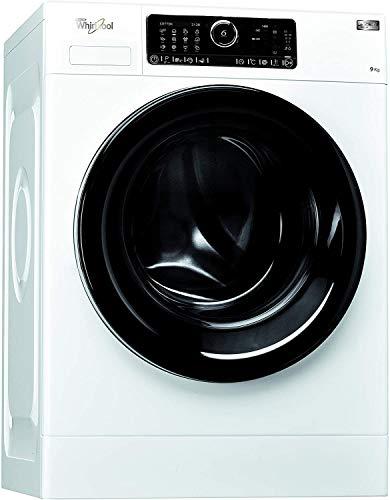 Whirlpool FSCRM90432, Lavatrice a Carica Frontale a Libera Installazione, 9 Kg, 10 Programmi, A+++, 1400 Giri Min, Bianco