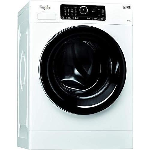 Whirlpool FSCRM90432, Lavatrice a Carica Frontale a Libera Installazione, 9 Kg, 10 Programmi, A+++, 1400 Giri/Min, Bianco