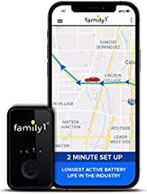Family1st Mini GPS Tracker Device for Vehicles - GPS Tracking Device, Trucks, Kids, Motorcycles, Automobiles, Elderly. Hidden 4G LTE Real-Time GPS, Monthly fee Required.