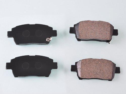wotefusi New Front Semi Metallic Brake Pads for Celica Corolla Prius Yaris Mr 2