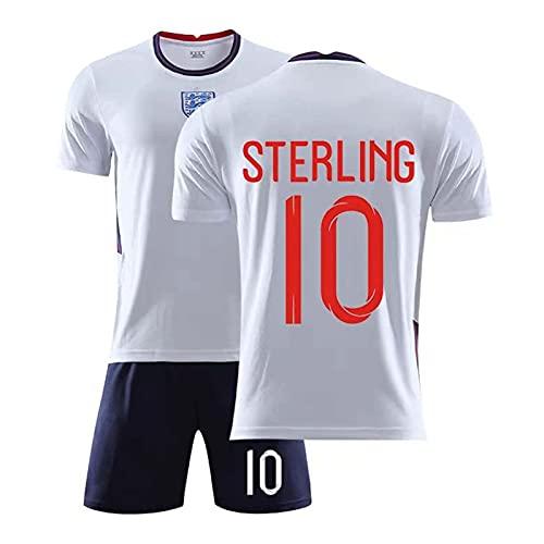 Mijiang Camiseta De Fútbol, Camiseta De Fútbol 2021 Inglaterra 9Káné 10 Stiŕling...