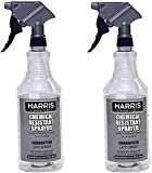 HARRIS Sale Chemically Resistant Professional Spray Bottle, 32oz 2 Pack Limited Edition