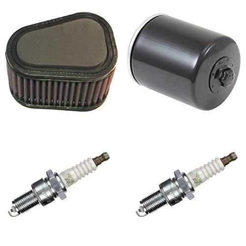 K&N NGK Filtre à air Filtre à huile Bougie d'allumage 1200 i.e. Lightning 1999-2002 Service d'entretien