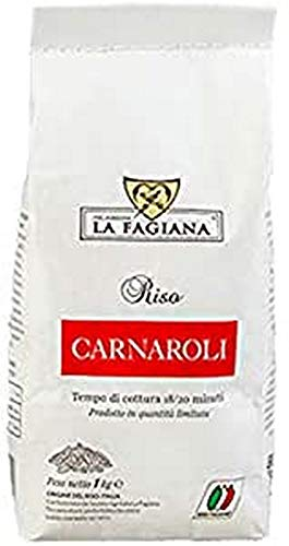 La Fagiana Carnaroli Arroz 1 Kg 1000 g