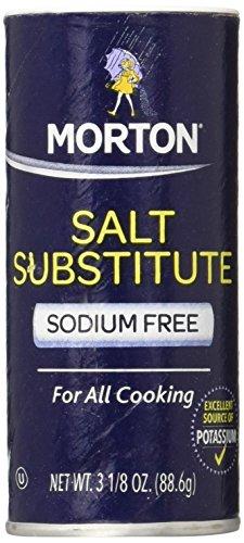 Morton Sodium Free Salt Substitute - 3.12 oz