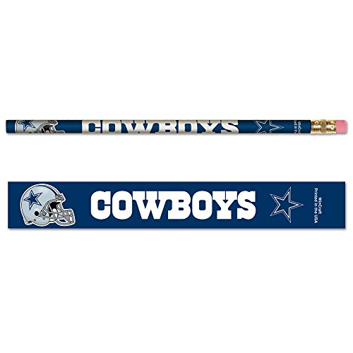 WinCraft NFL Dallas Cowboys 15512041 Pencil (6 Pack)