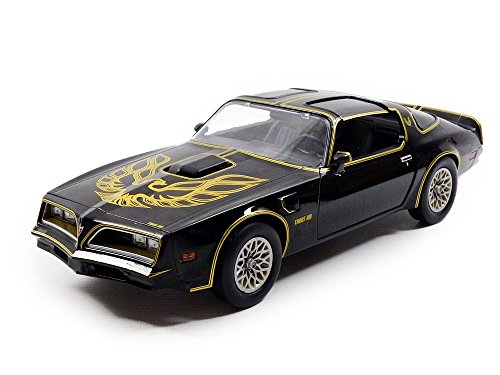 Auto Greenlight Collezionismo – 19025 – Veicolo in Miniatura – Pontiac Firebird – Smokey And The Bandit 1 – 1969, Nero, in Scala 1/18