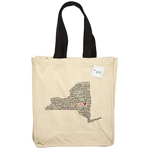Primitives by Kathy Home State Pride Tote Bag, New York
