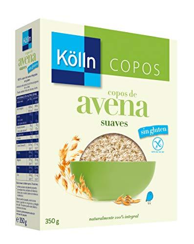 Kölln Kölln | Cereales de Avena Sin Gluten | 100% Copos de Avena Integrales | 350 G 1225 ml
