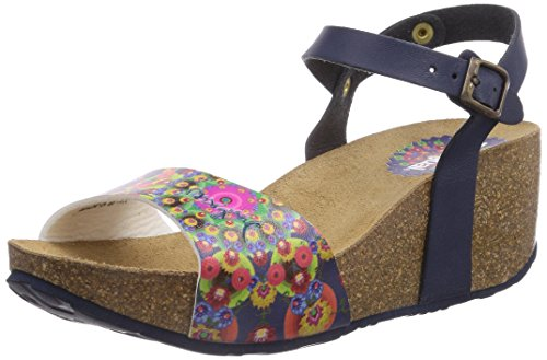 Desigual Shoes MANDARINA, Sandali Donna, Blu (Blau (5001)), 41