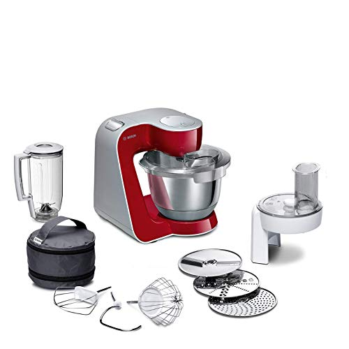 Bosch MUM58720 CreationLine Robot da cucina CreationLine 1000 W rosso