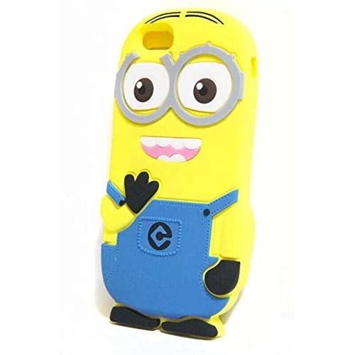 86dfdd0e387f Walsoon 3D Cute Cartoon Despicable Me Minion Soft Silicone Case Cover for  Apple iphone 6 4.7