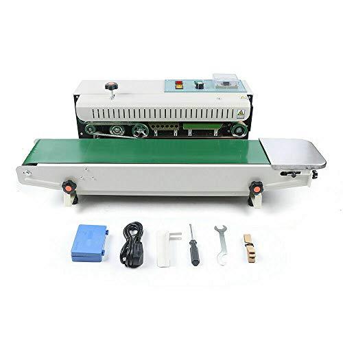 Sellador Automático Plástico de Bolsas de Continuo Horizontal Máquina de Sellado 220V