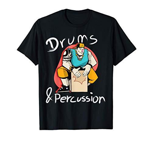 Schlagzeug, Cajon, oder Pauke | Für alle Percussionisten T-Shirt