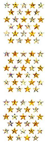 【10枚セット】スターシール 金銀 ホロ BPMS011【ご注文1回につき1個 サン・クロレラ サンプルプレゼント!】
