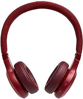 JBL LIVE 400BT - Cuffie On-Ear Wireless Bluetooth, Con Alexa integrata e Assistente Google, Fino a 24h di Autonomia, Colore Rosso