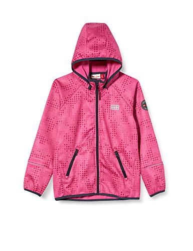 Lego Wear Mädchen Lwsam Softshelljacke Jacke, Rosa (Pink 456), (Herstellergröße: 116)