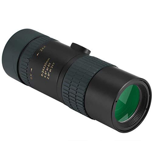 HiXB 24X30 Wasserdichtes Monokular Teleskop - BAK-4 Prisma FMC Fernglas für Reisen Vogelbeobachtung Jagd Camping Konzert Ballspiel