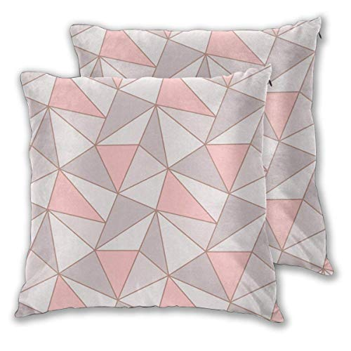 erjing Pack of 2 Soft Decorative Square Throw Pillow Covers, Albany Wallpapers Cushion Cases Pillowcases for Sofa Bedroom Car,20 x 20 Inch