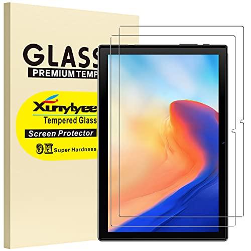 XunyLyee [2 Piezas] Protector de Pantalla Compatible Con Blackview Tab 9, Cristal Templado Film para Blackview Tab 8/Tab 8E/Tab 9 (10,1 Pulgadas)