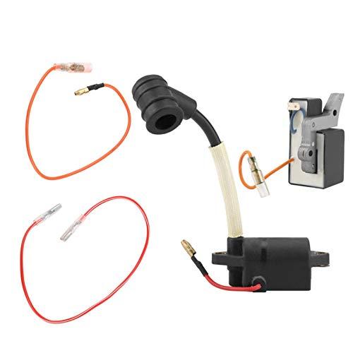 A411000460 Herramientas para Motosierra Fácil de Instalar Módulo de Bobina de Encendido Resistente...