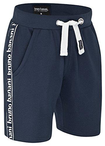 bruno banani Kurze Herren Bermuda Short/Jogginghose/Sporthose/Sweatshorts, Marineblau in S