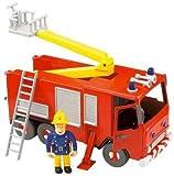 Fireman Sam Friction Jupiter Fire Engine with Sam Figure