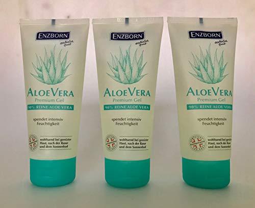 ENZBORN® Premium Aloe Vera Gel, 100 ml Tube Vorratskarton 3 Tuben