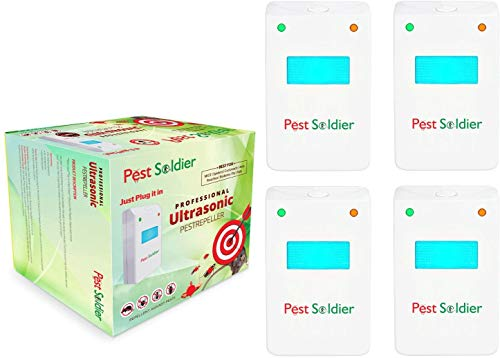 Pest Soldier Original Ultrasonic Electronic Pest Repeller