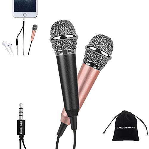 2pcs Mini Microphone, Karaoke Microphone, Asmr Microphone, Small Microphone for...