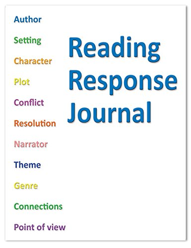 "BookFactory Elementary School Reading Response Journal/Classroom Reading Response Book - 10 Pack (8.5"" x 11"" - 32 Pages) Saddle Stitched (JOU-032-7CSS-RRJ-[10-Pack]-PJX)"