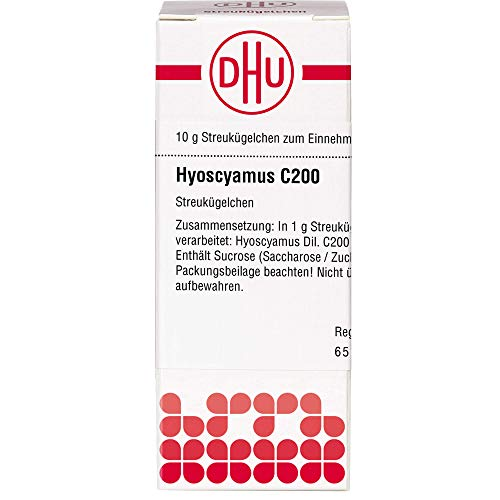 DHU Hyoscyamus C200 Streukügelchen, 10 g Globuli