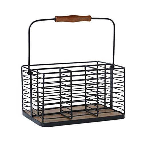 Yarnow Vintage Locker Basket Style,Sturdy Steel Wire Storage Solution Inspired Steel Wire Storage Bin for Closets, Pantry, Kitchen, Garage, Bathroom