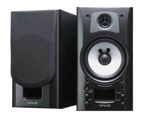 ONKYO WAVIO アンプ内蔵スピーカー 15W+15W GX-70HD(B) /ブラック