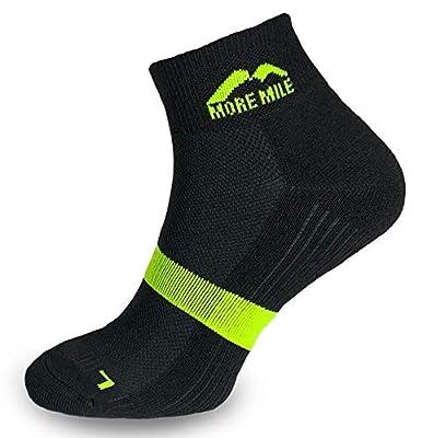 More Mile Preventer Mens Running Socks Double Layer Trainer Sock