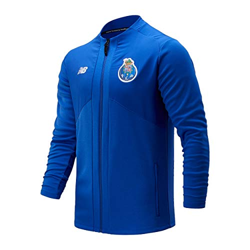 New Balance FC Porto Pre-Game Jacket Chaqueta De Juego Hombre Fcp, Azul, 2XL