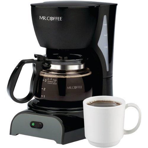 Sunbeam  Mr Coffee Coffeemaker 4 cup ,Black