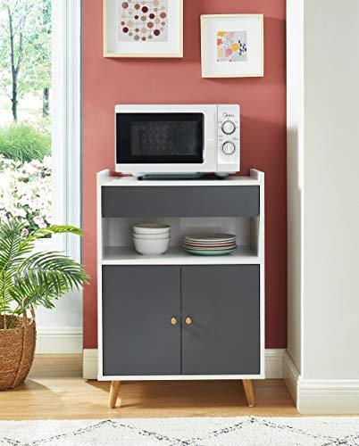 BAITA Küchenschrank, weiß, grau, 0