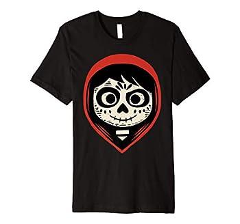 Disney Pixar Coco Miguel Sugar Skull Portrait Premium T-Shirt