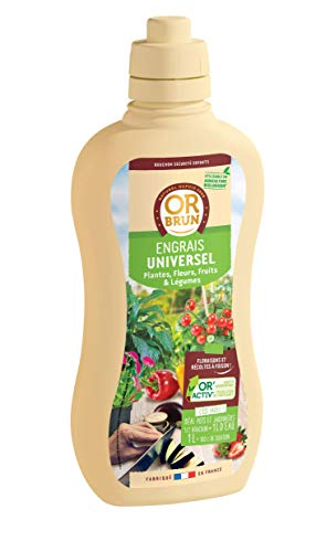 Or brun Engrais Universel UAB, 1 Litre, Non Applicable