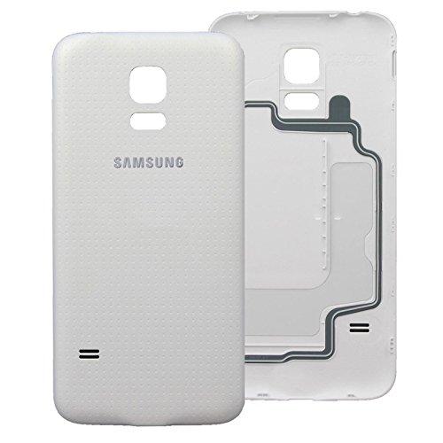 Samsung Galaxy G800F S5 Mini Akkudeckel Cover Schale Backcover Gehäuse Weiß/White