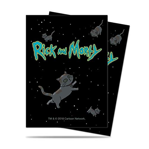 Cats Rick and Morty - UP Standard Sleeves (65 Sleeves)