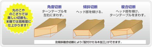 HiKOKI(ハイコーキ) 旧日立工機 卓上スライド丸のこ 刃径190mm FC7FSB